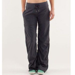 Lululemon Dance Studio Pants Lined Black Size 6
